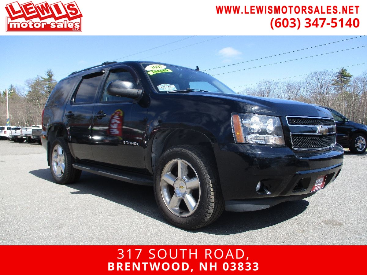2007 Chevrolet Tahoe LT Heated Leather Moonroof DVD