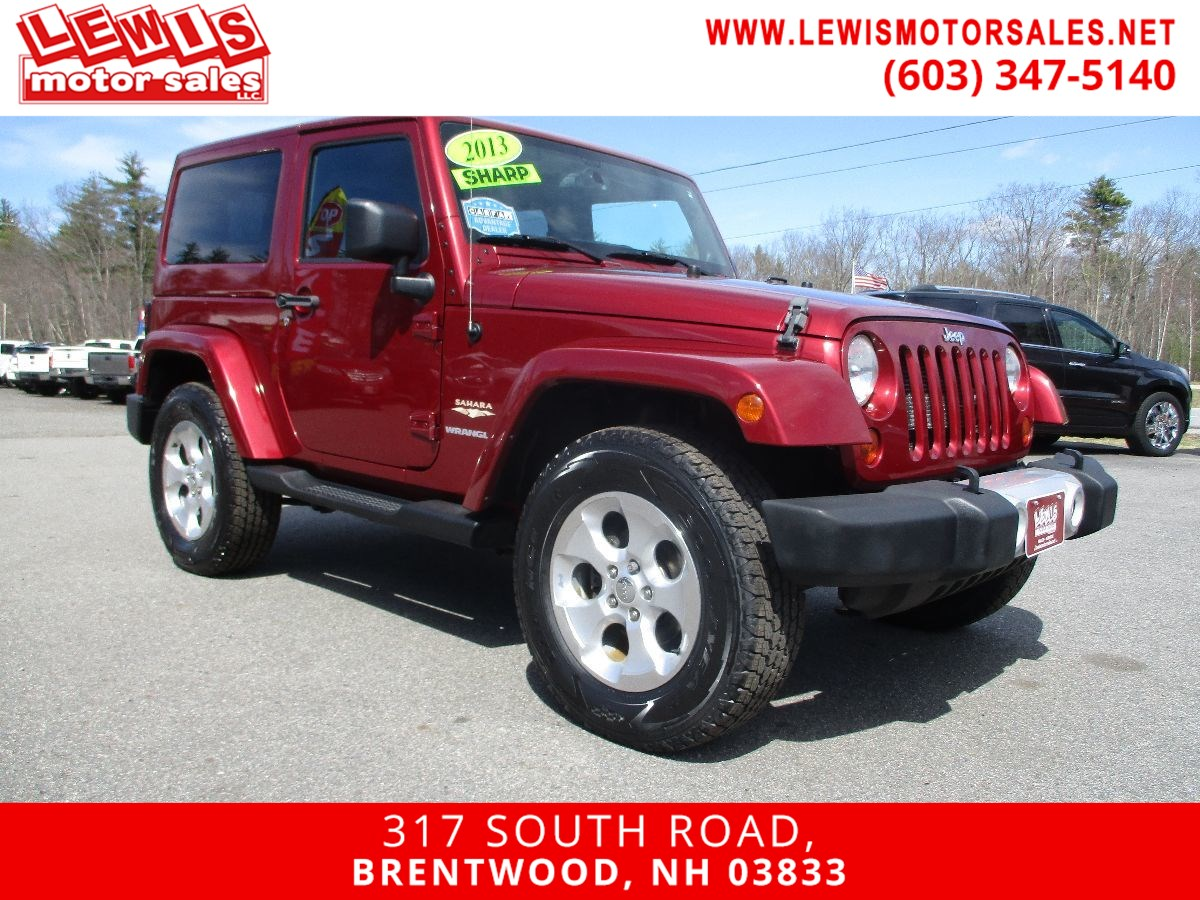 2013 Jeep Wrangler Sahara Hard Top Full Power