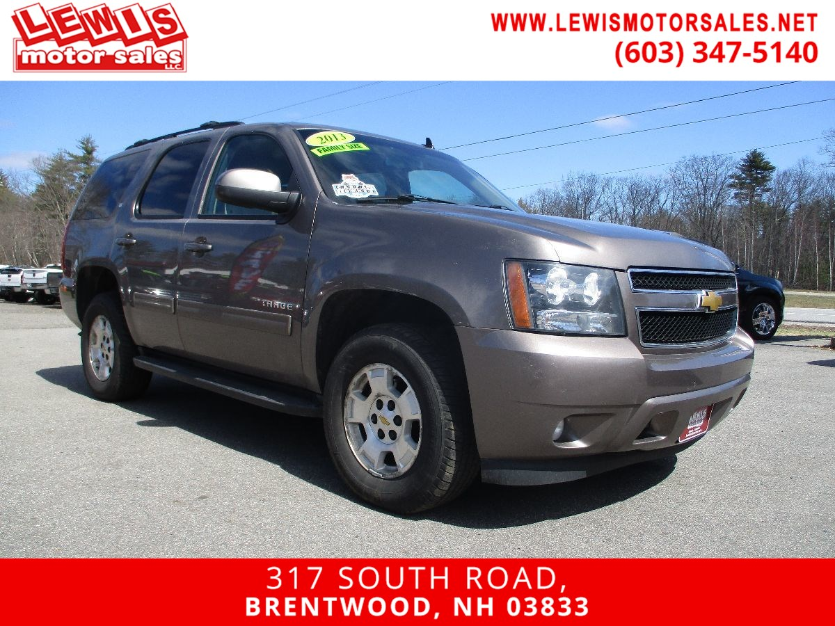 2013 Chevrolet Tahoe LT Heated Leather Moonroof