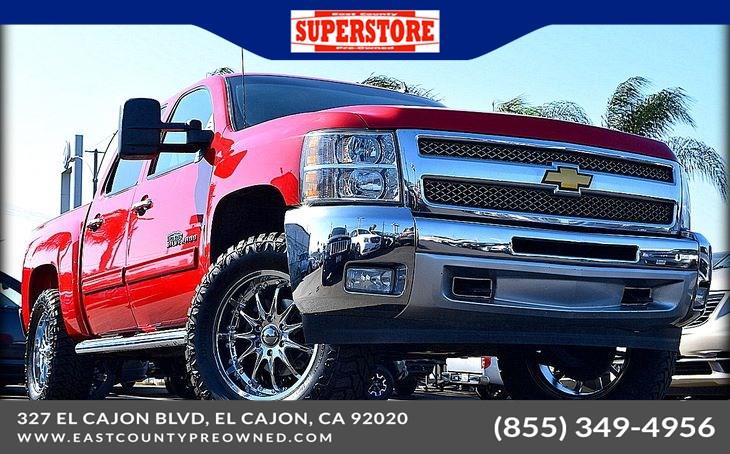 Sold 2012 Chevrolet Silverado 1500 Lt Lifted Truck Z71 In El Cajon