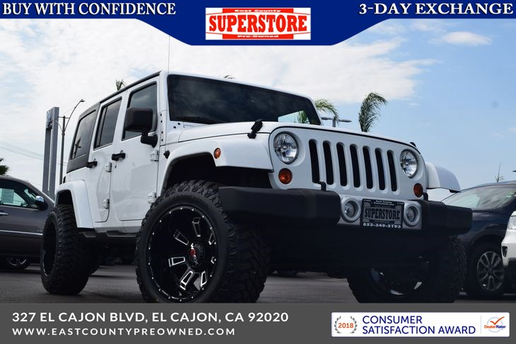 2013 Jeep Wrangler Unlimited Sahara - East County Pre-Owned Superstore