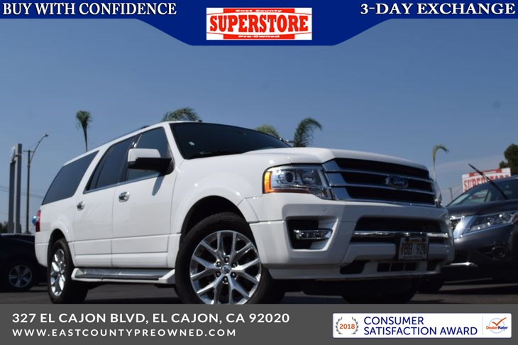 2017 Ford Expedition EL Limited - East County Pre-Owned Superstore