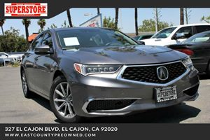 East County Preowned Superstore >> 2018 Acura Tlx 2 4l W Technology Package