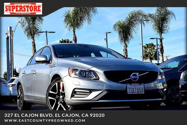 2017 Volvo S60 T5 Dynamic - East County Pre-Owned Superstore