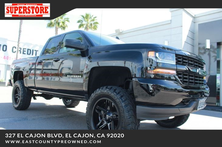 East County Preowned Superstore >> 2017 Chevrolet Silverado 1500 Custom East County Pre Owned Superstore
