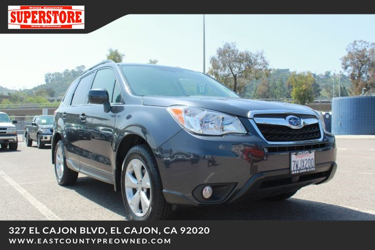 El Cajon Subaru >> 2015 Subaru Forester 2 5i Limited East County Pre Owned Superstore