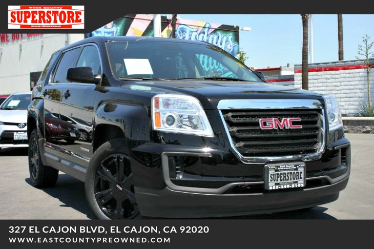 East County Preowned Superstore >> 2017 Gmc Terrain Sle 1 East County Pre Owned Superstore