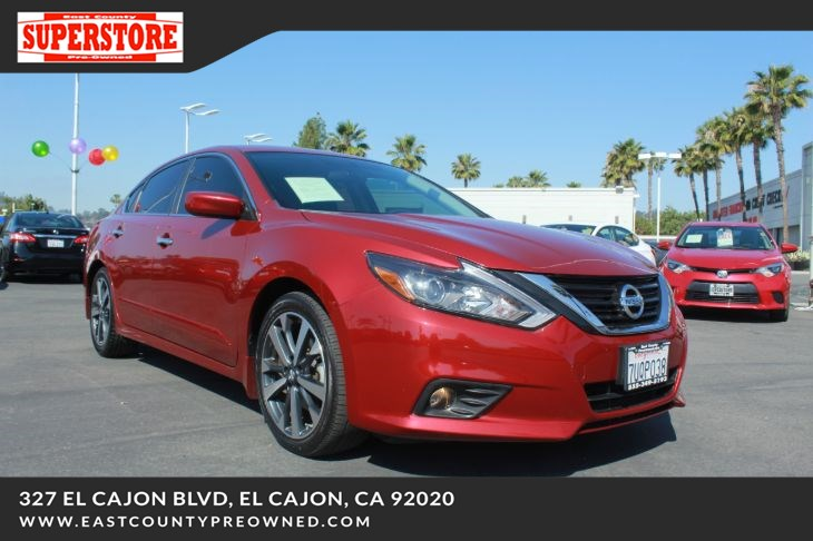East County Preowned Superstore >> 2017 Nissan Altima 2 5 Sr East County Pre Owned Superstore