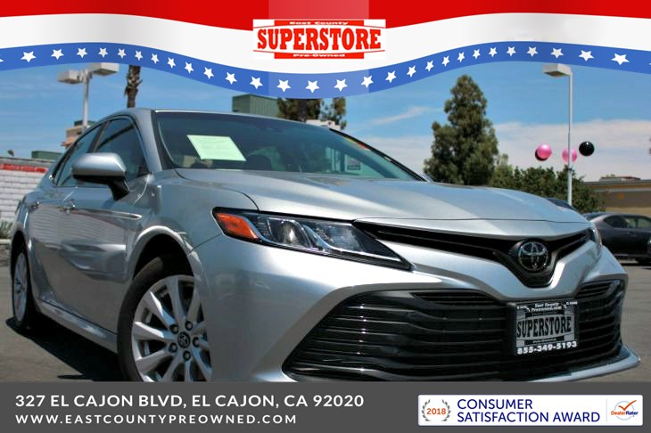 East County Preowned Superstore >> 2018 Toyota Camry Le East County Pre Owned Superstore