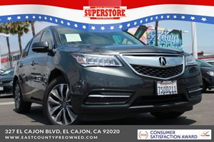 East County Preowned Superstore >> 2016 Acura Mdx 3 5l