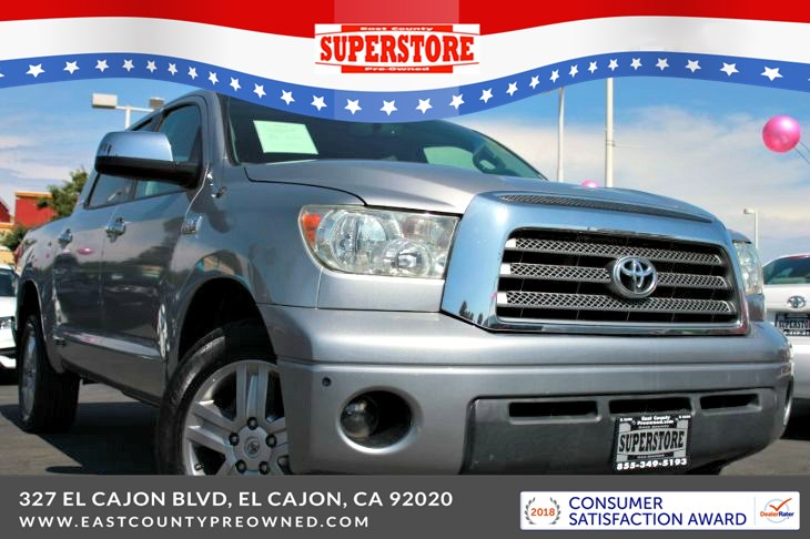 2008 Toyota Tundra Limited CrewMax