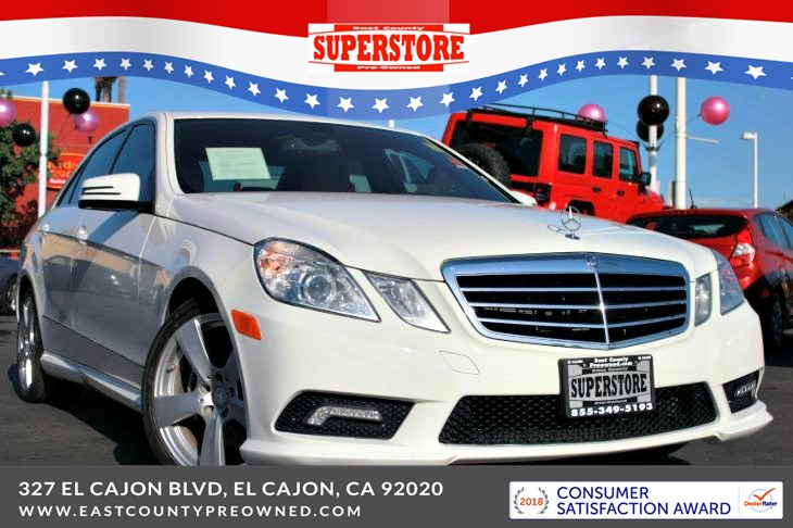 East County Preowned Superstore >> 2011 Mercedes Benz E Class E 350 Base East County Pre Owned Superstore