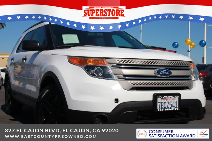 East County Preowned Superstore >> 2013 Ford Explorer Base East County Pre Owned Superstore