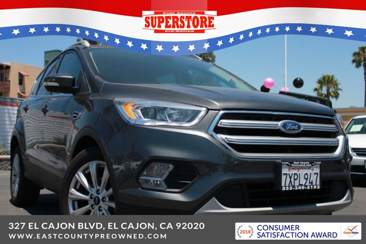 East County Preowned Superstore >> 2017 Ford Escape Titanium East County Pre Owned Superstore