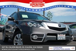 East County Preowned Superstore >> 2011 Acura Rdx Base