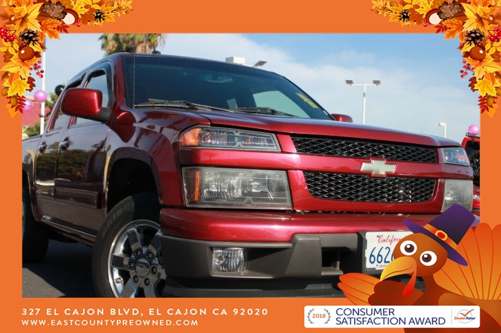 2011 Chevrolet Colorado 1LT