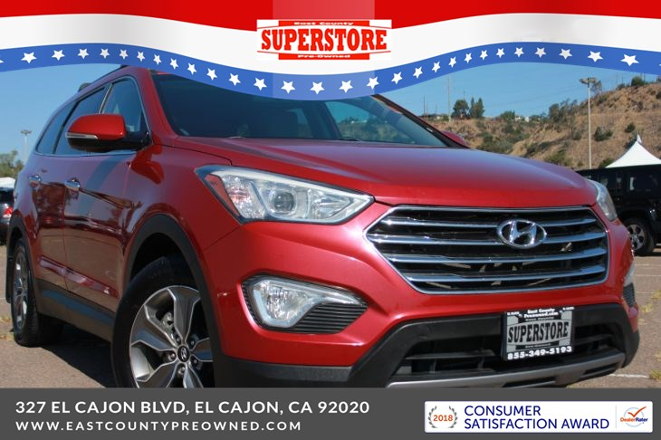 2014 Hyundai Santa Fe Gls East County Pre Owned Superstore