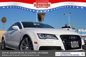 East County Preowned Superstore >> 2013 Audi A7 3 0t Premium Quattro
