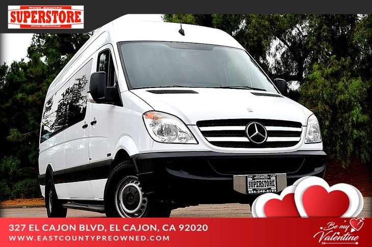 2013 Mercedes-Benz Sprinter 2500 Passenger 170 WB BlueTEC®