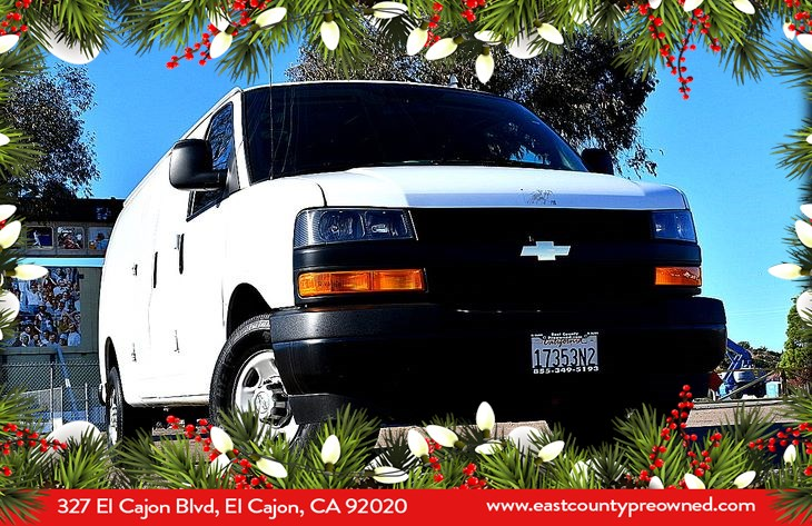 2019 Chevrolet Express 2500 Work Van Cargo