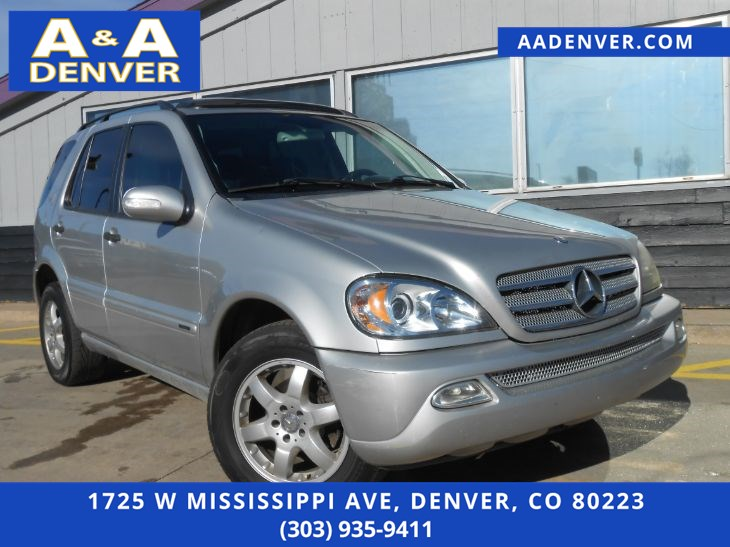 2003 Mercedes-Benz ML350 SUV