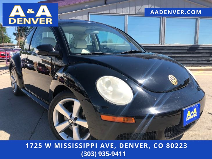 2008 Volkswagen New Beetle Coupe SE
