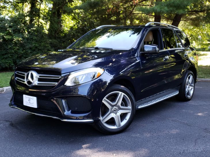 2017 Mercedes-Benz GLE 350 4MATIC SUV