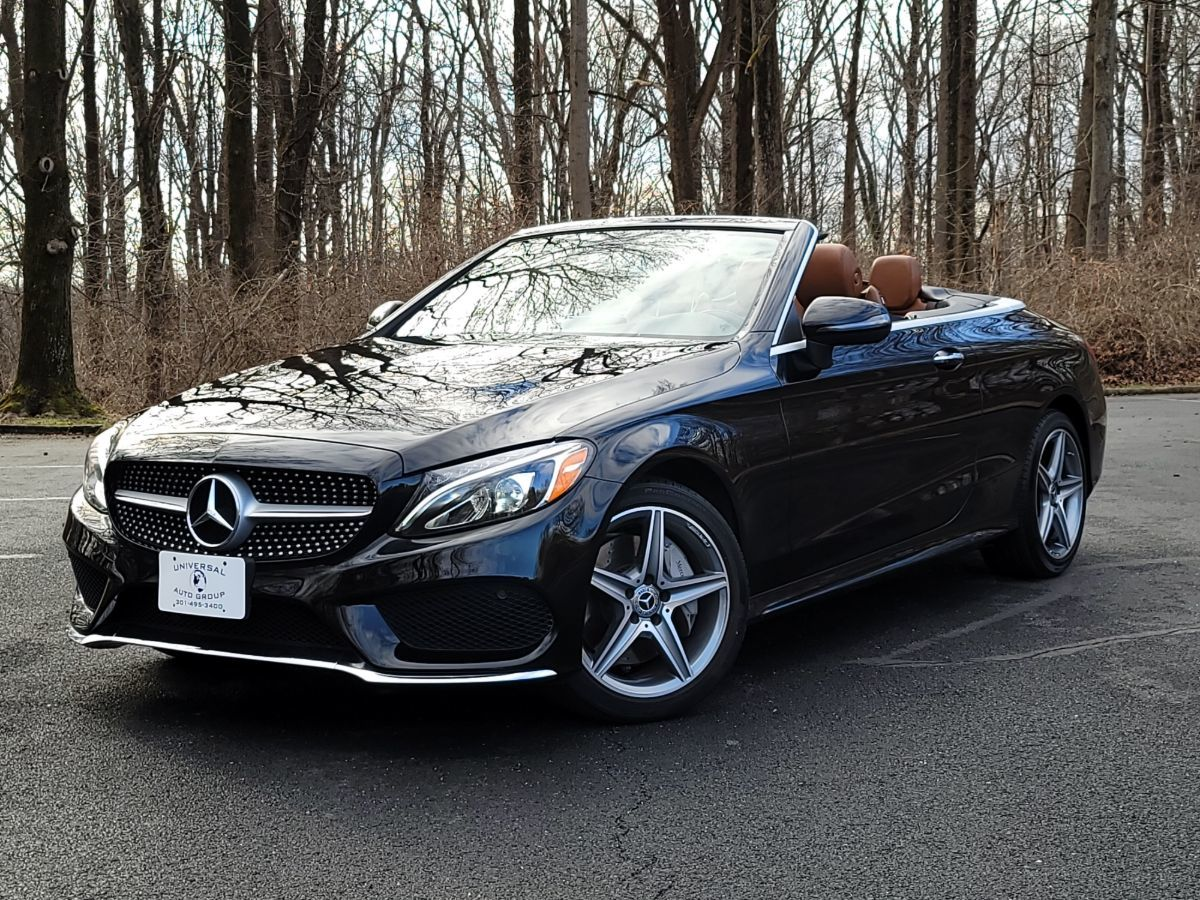 2017 Mercedes-Benz C 300 4MATIC Cabriolet