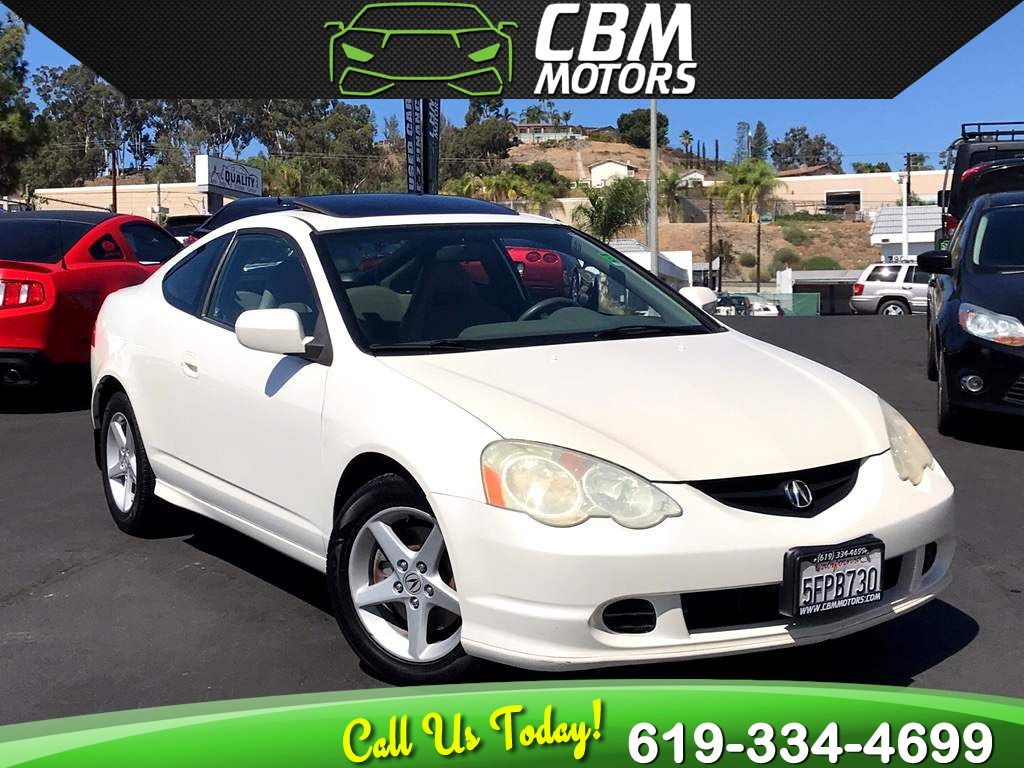 2004 Acura RSX Type-S 6 SPEED MANUAL / 1 OWNER / LEATHER SEATS