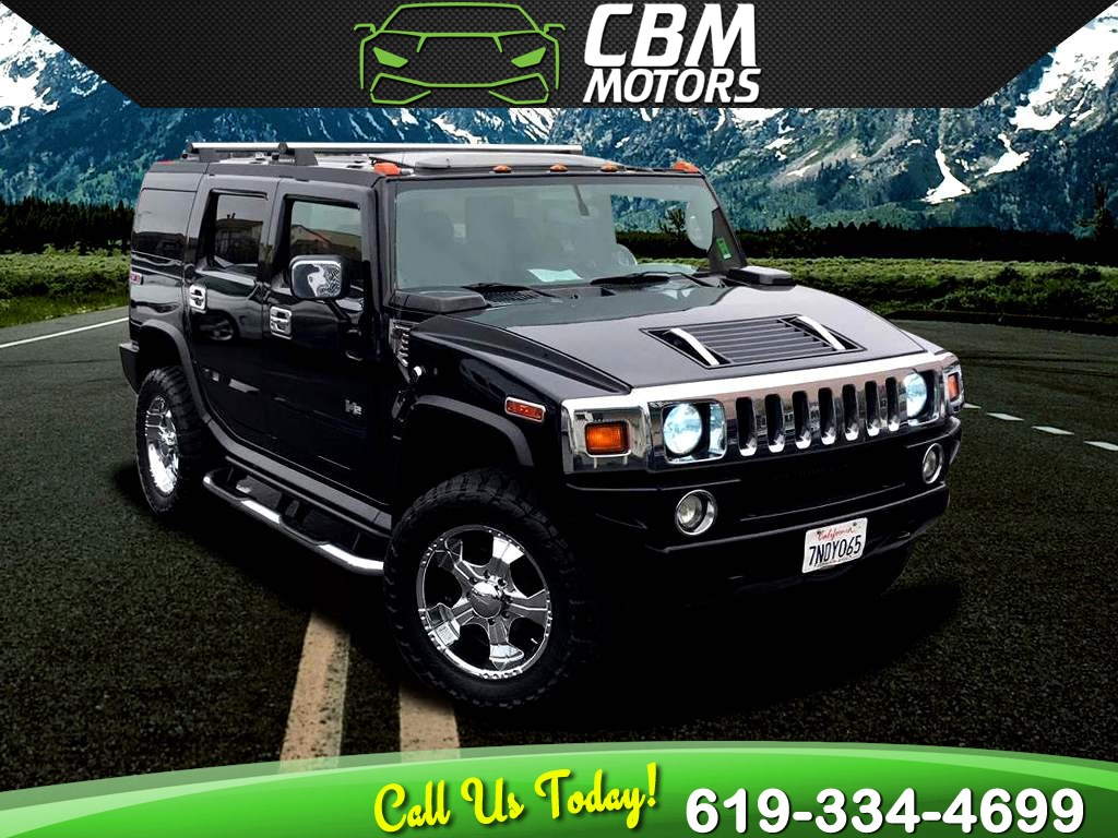 2005 HUMMER H2 Luxury Series LOW MILEAGE / FULLY LOADED / CUSTOM