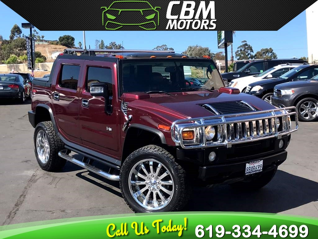 2006 HUMMER H2 SUT LOW MILES W/ LOCKING SLIP DIFF / BACK UP CAM