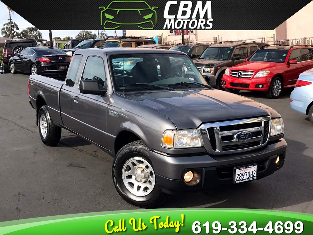 2011 Ford Ranger Xlt 4x4 Super Cab Manual W Mp3 Cbm Motors