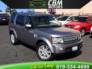 View 2012 Land Rover LR4