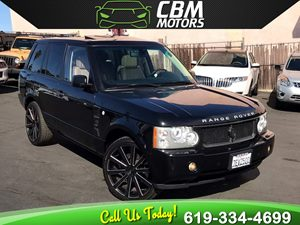 View 2009 Land Rover Range Rover