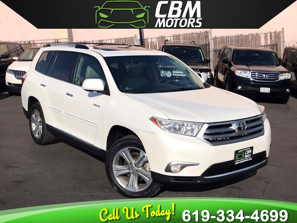 2011 Toyota Highlander Limited AWD w/Nav/Sunroof