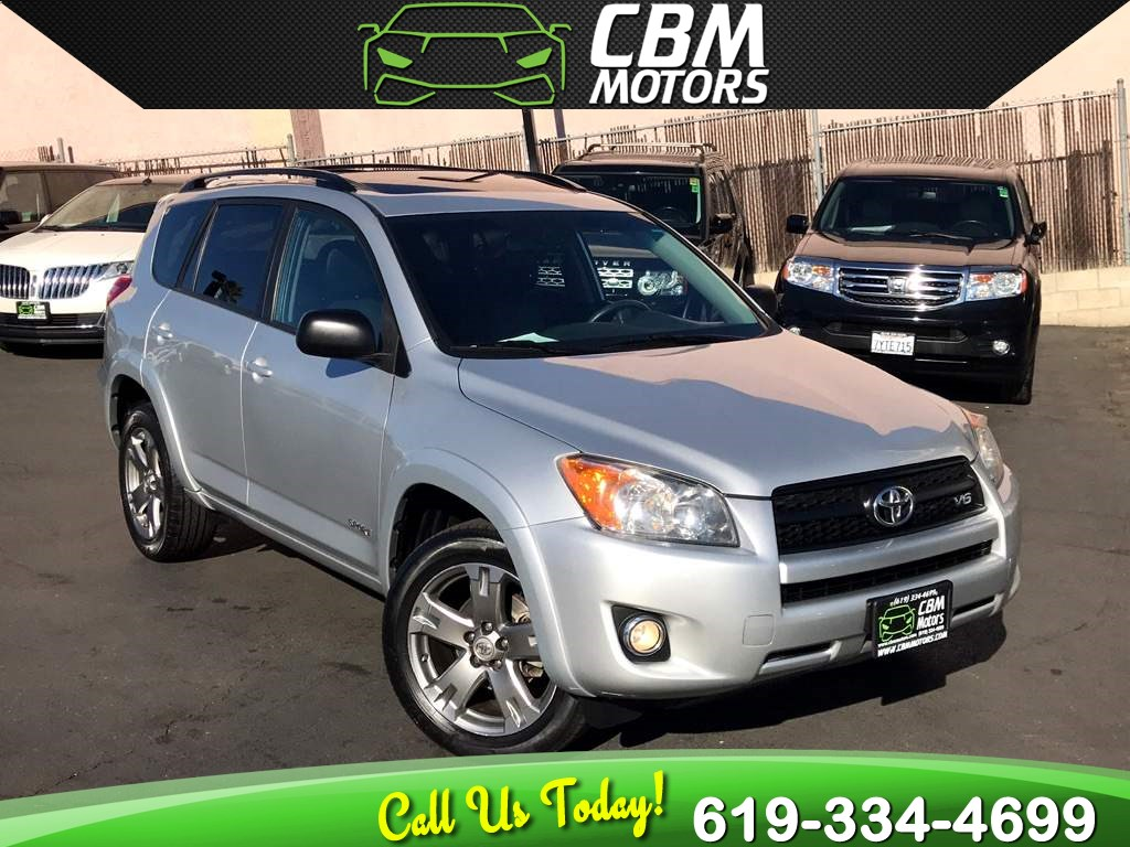 2010 Toyota RAV4 Sport w/Sunroof/Backup Camera