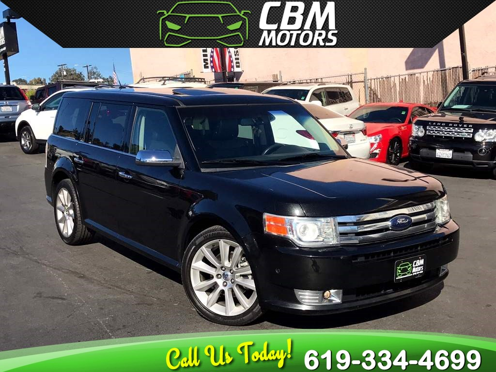 2010 Ford Flex Limited ECO AWD W/ NAV/ TRIPLE MOONROOF/ 3RD ROW