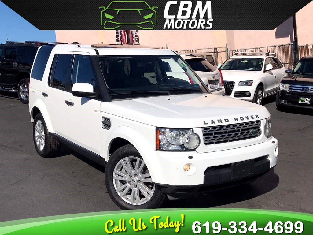 2011 Land Rover LR4 AWD w/Nav/Sunroof 3RD ROW
