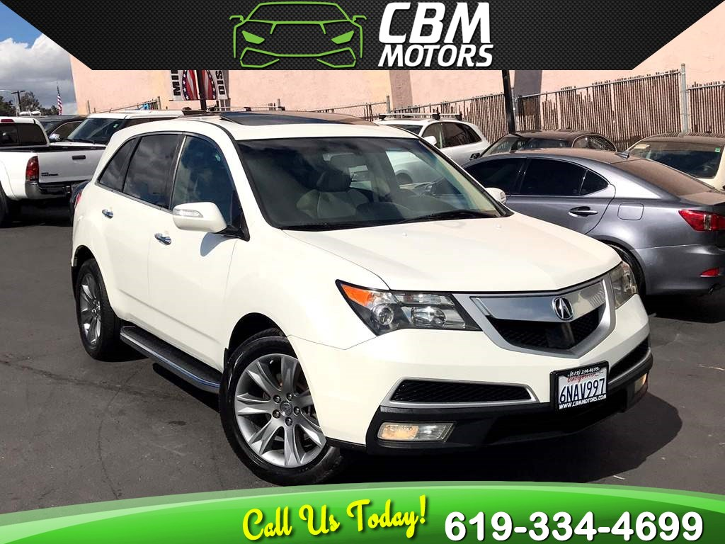 Sold 2010 Acura MDX SH-AWD W/ ADVANCE PKG / LOW MILES / NAVIGATION