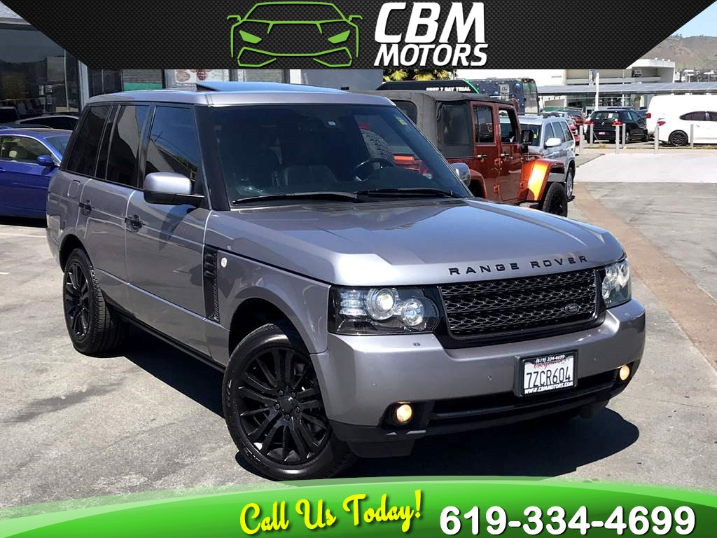 2012 Land Rover Range Rover HSE W/ NAV/ BACK UP CAMERA/ BLUETOOTH