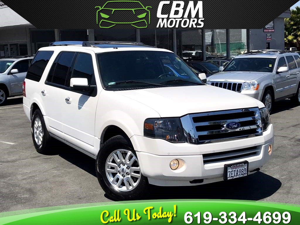 2014 Ford Expedition Limited W/ NAV/ BACK UP CAMERA/ 3RD ROW