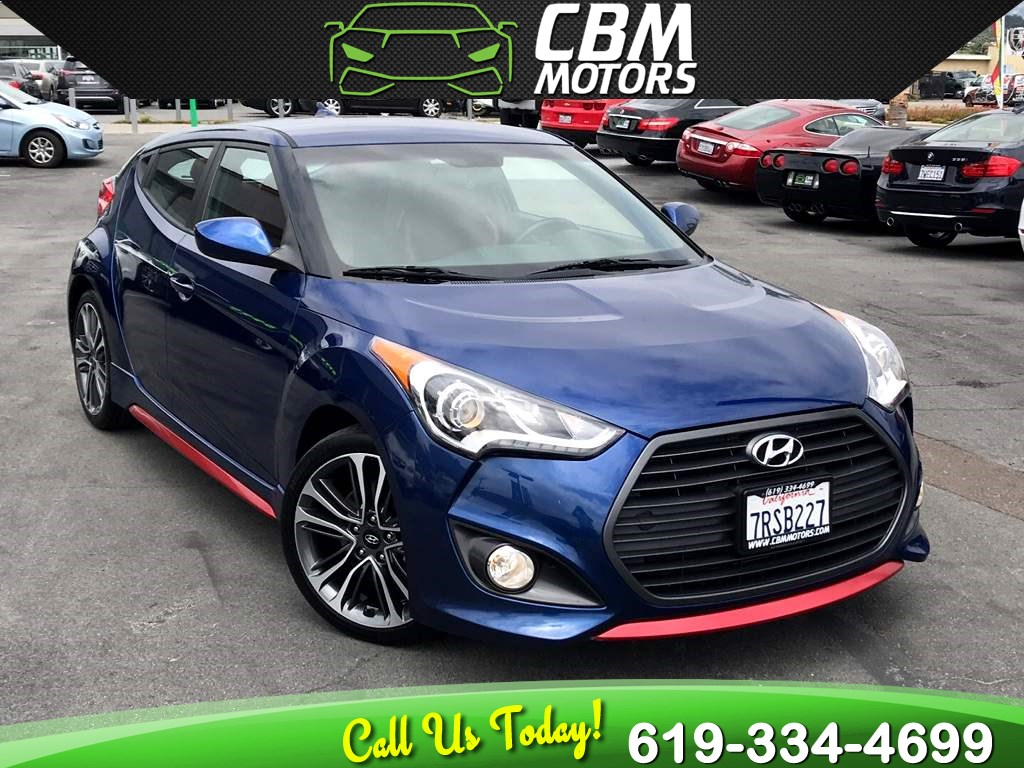 2016 Hyundai Veloster Turbo R-Spec Manual W/ Back Up Camera/ Bluetooth