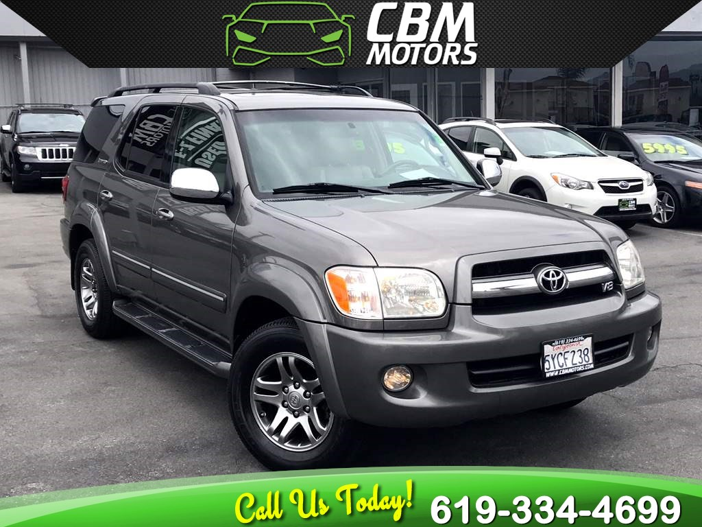 2007 Toyota Sequoia Limited W/ NAV/ MOONROOF/ DVD ENTERTAINMENT