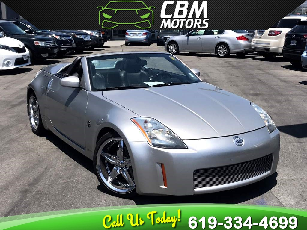 2004 Nissan 350Z Touring/ Convertible/ 6-Speed Manual/ Low Miles