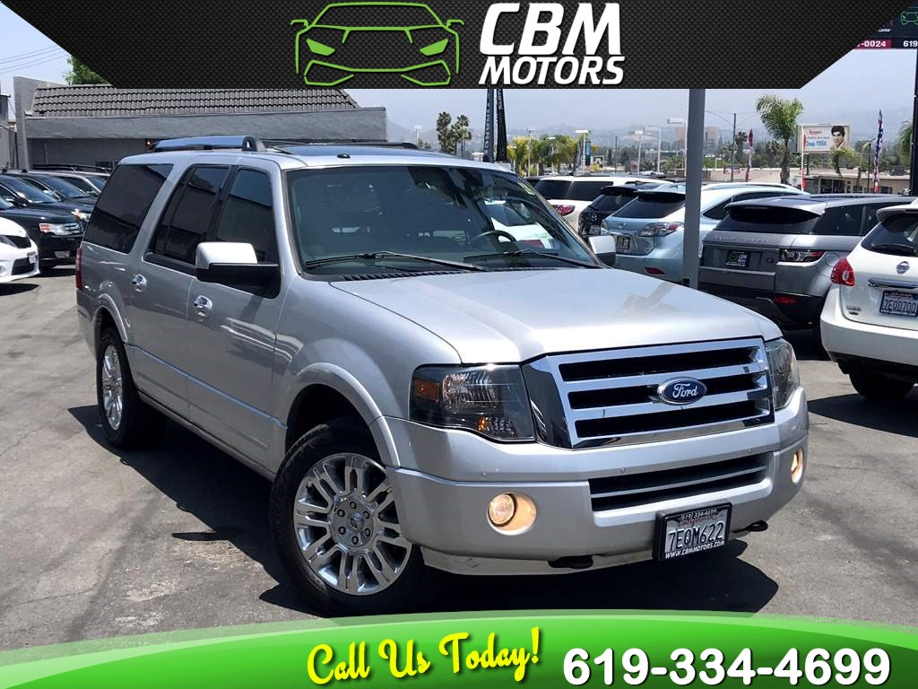 2014 Ford Expedition EL Limited 4X4 W/ NAV/ BACK UP CAMERA/ DVD