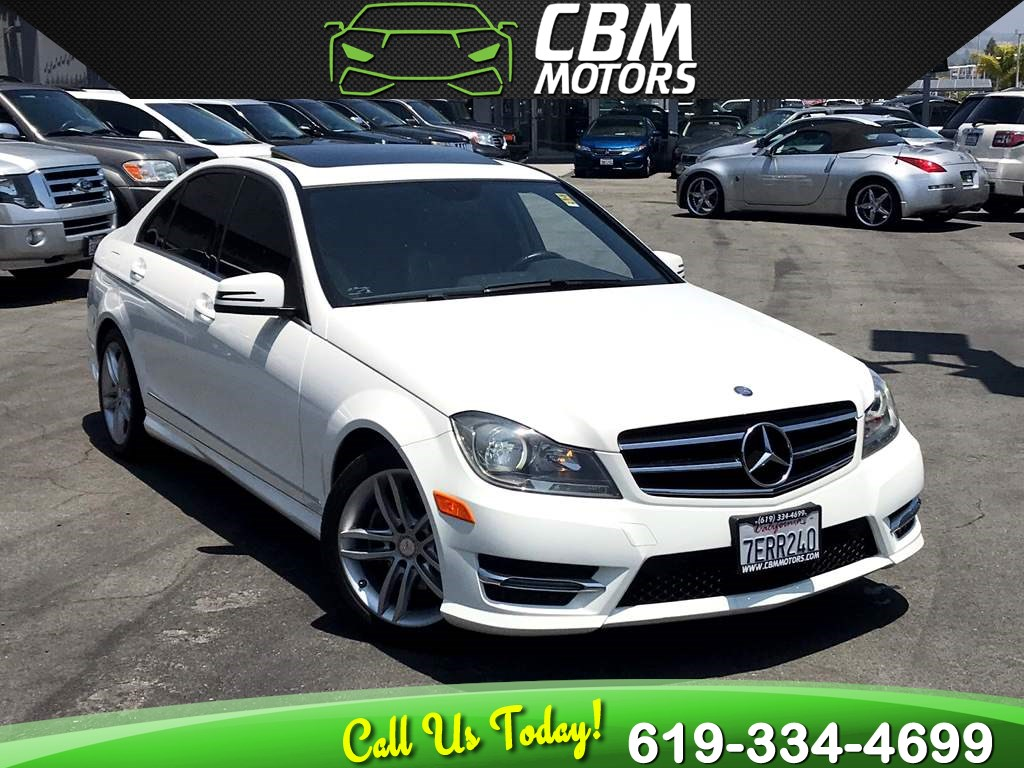 2014 Mercedes-Benz C 250 Sport TURBOCHARGED W/ MOONROOF/ NAV/ LOW MILES