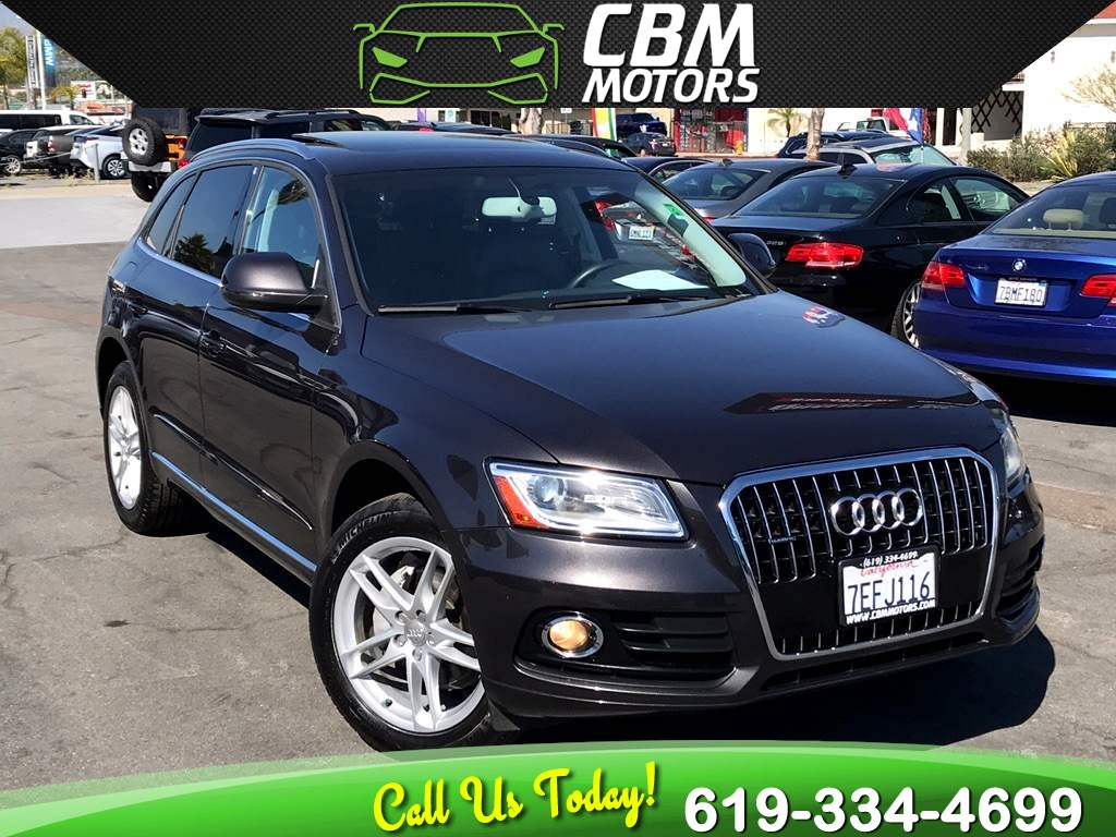 2014 Audi Q5 2.0T quattro Premium Plus AWD W/ PAN MOONROOF