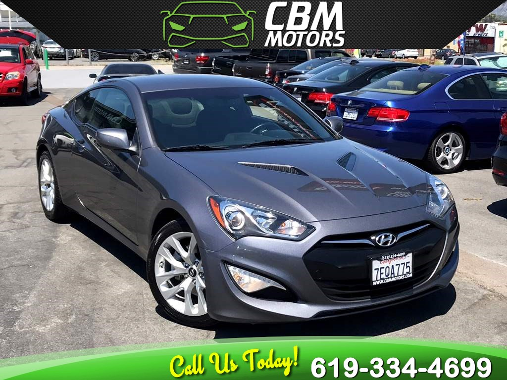 2014 Hyundai Genesis Coupe TURBOCHARGED 1 OWNER W/ BLUETOOTH 2.0T