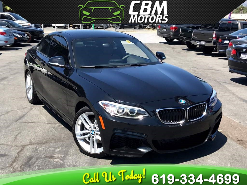 2015 BMW 2 Series 228i M SPORT RARE 6 SPEED MANUAL W/ BLUETOOTH