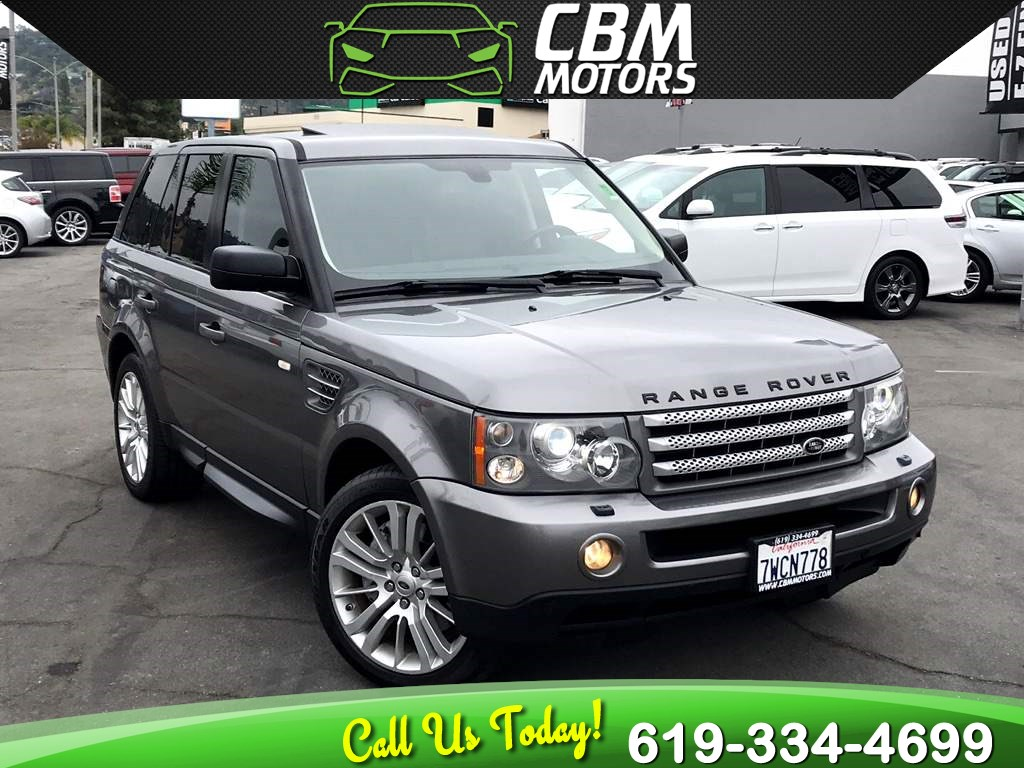 2009 Land Rover Range Rover Sport Supercharged 4X4 W/ NAV/ BLUETOOTH